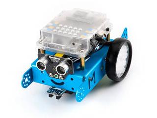 ・STEM教育初心者向けです Makeblock Japan 楽しく学べるSTEMロボットキット mBot V1.1-Blue(Bluetooth Version) 99095 ・約30分でロボットを組立。 ・プログラミングロボットキット