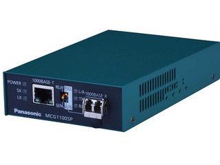 パナソニックESネットワークス 1000BASE-T/SXメディアコンバーター MCG1100SP-SX PN61324