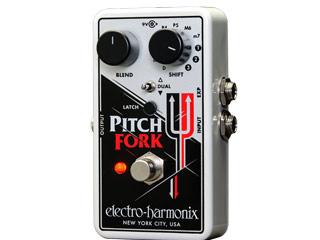 【nightsale】 electro harmonix/エレクトロハーモニクス Pitch Fork ポリフォニックピッチシフター エフェクター 【国内正規品】