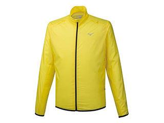 mizuno/ミズノ ブレーカーシャツ ポーチジャケット Sサイズ ブレイジングイエロー J2ME9520-46