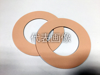 VALQUA/日本バルカー工業 フッ素樹脂バルカロンガスケット 7020-3t-RF-10K-450A(1枚)