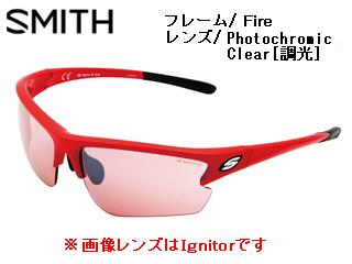 Smith Optics/スミス REACTOR MKFire 【レンズ/Photochromic Clear [調光]】 【当社取扱いのスミス商品はすべて日本正規代理店取扱品です】