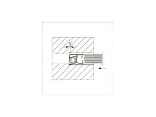 KYOCERA/京セラ 内径加工用ホルダ C04X-SJLCR03-055