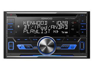 KENWOOD/ケンウッド DPX-U740BT 2DIN CD/USB/iPod/Bluetooth(R)レシーバー MP3/WMA/AAC/WAV/FLAC対応