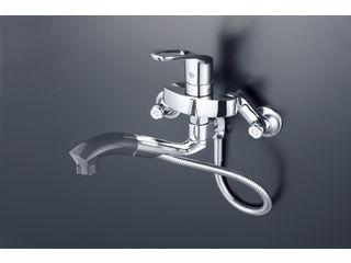 KVK/ケーブイケー 寒冷地用 シングルシャワー付混合栓 KM5000ZTP