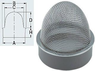 KAKUDAI/カクダイ 山型防虫目皿 400-238-125