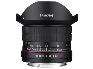【納期にお時間がかかります】 SAMYANG/サムヤン 12mm F2.8 ED AS NCS FISH-EYE キヤノンEF用 フルサイズ 【お洒落なクリーニングクロスプレゼント!】