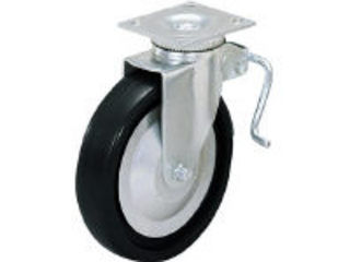 SUGATSUNE/スガツネ工業 LAMP 重量用キャスター径127自在ブレーキ付D(200-133-470) SUG-31-405B-PD