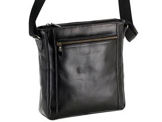 日本製■本革ショルダーバッグ【ブラック】B5対応■ 牛革 革製品 日本製 JAPAN ヌメ革 オイル