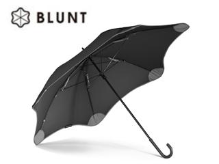 BLUNT/ブラント BLUNT LITE+ (2nd Generation) カーブハンドル 長傘 手開き (ブラック)【58cm】
