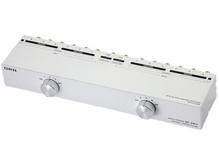 ORB/オーブ MC-SW1i 3ch パワーアンプ・スピーカーセレクター(3入力/3出力)・(1入力/6出力)タイプ