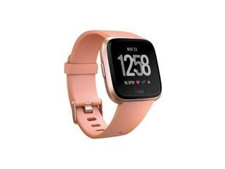 Fitbit フィットビット スマートウォッチ Fitbit CJK Versa FB505RGPK Versaは、Lサイズ、Sサイズのバンドがどちらも同梱されております。サイズを選んでいただく必要はございません。 L/Sサイズ ピンク/ローズゴールドアルミニウム