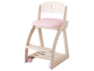 KOIZUMI/コイズミ 【Lovely Chair/木製ラブリーチェア】KDC-030WW LP ライトピンク