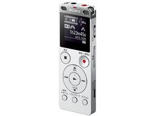 SONY/ソニー ステレオICレコーダー FMチューナー付 8GB シルバー ICDUX565FS