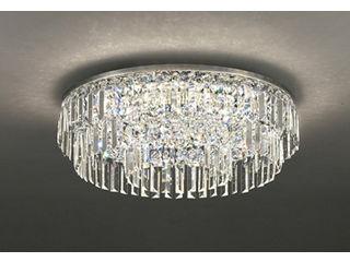 ODELIC OC257136BC LEDシャンデリア クリスタルガラス【~10畳】【Bluetooth 調光・調色】※遠赤外線リモコン付属