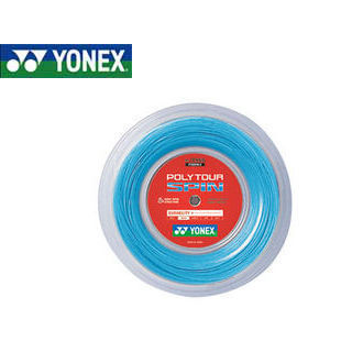 YONEX/ヨネックス PTS1202-60 テニスストリング ポリツアースピン 【120 ロール240m】 (コバルトブルー)