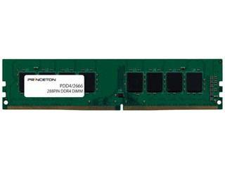Princeton/プリンストン デスクトップPC向け増設用PCメモリ 8GB PC4-21300(DDR4-2666) 288PIN UDIMM PDD4/2666-8G