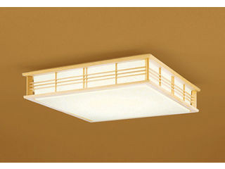 ODELIC/オーデリック OL251596BC 和LEDシーリングライト 白木【~8畳】【Bluetooth 調光・調色】※リモコン別売