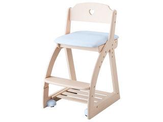 KOIZUMI/コイズミ 【納期9月末以降】【Lovely Chair/木製ラブリーチェア】KDC-031WW LB ライトブルー