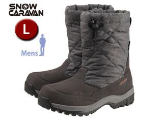 SNOW CARAVAN/スノーキャラバン 0023114 ウィンターブーツ SHC-14M (グレーヘザー) 【L】【男性用】