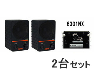 FOSTEX/フォステクス 【2台セット!】アクティブ・モニタースピーカー 6301NX 【6301NSERIES】