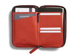 Bellroy/ベルロイ 本革■RFIDスキミングガード/パスポートケースウォレット【タンジェロ】■トラベルフォリオ(BRWTFA)