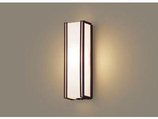 Panasonic/パナソニック LGWC81403LE1 LEDポーチライト ダークブラウン【電球色】【明るさセンサ付】【壁直付型】