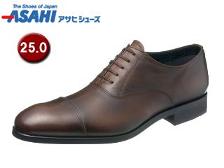 ASAHI/アサヒシューズ AM51032-1 通勤快足 TK51-03 ゴアテックス ビジネスシューズ 【25.0cm・3E】 (ブラウン)