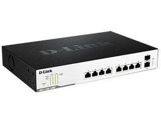 D-Link/ディーリンクジャパン 【キャンセル不可商品】リミテッドライフタイム保証 10ポートスイッチ/PoE+対応(8ポート) DGS-1100-10MP