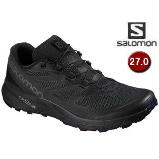 SALOMON/サロモン L40484900 SENSE RIDE ランニングシューズ メンズ 【27.0cm】(Black/Black/Magnet)