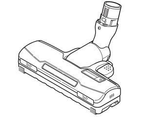 Panasonic/パナソニック 掃除機用床用ノズル  AMV85P-HD0W