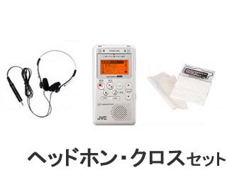 JVC 【ヘッドホンセット!】XA-LM10 W【ホワイト】 ビクター音楽用レッスンレコーダー (XALM10)