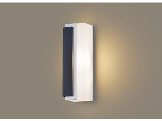 Panasonic/パナソニック LGW80441LE1 LEDポーチライト シルバーメタリック、オフブラック【電球色】【左側遮光】【壁直付型】