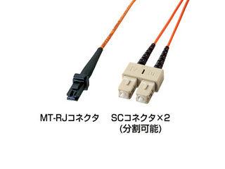 サンワサプライ MT-RJパッチケーブル(1m) HKB-MTSC5-1