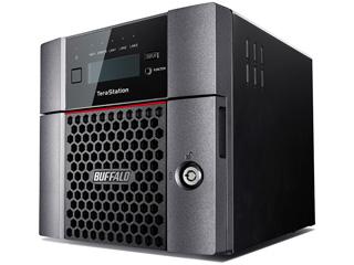 バッファロー LAN接続ハードディスク(NAS) TeraStation TS5210DNシリーズ 2ドライブ 8TB TS5210DN0802