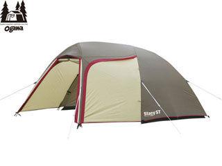 CAMPAL JAPAN/キャンパルジャパン ★2616 ステイシー ST-2 ドーム型テント 2~3人用 (ブラウン×サンド×レッド )