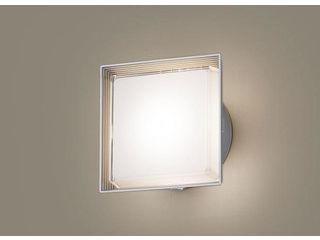 Panasonic/パナソニック LGWC80301LE1 LEDポーチライト シルバーメタリック【電球色】【明るさセンサ付】【壁直付型】