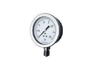 NAGANO/長野計器 グリセン入圧力計 A枠立型 Φ75 最小目盛0.005 GV51-133-0.1MP