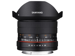 【納期にお時間がかかります】 SAMYANG/サムヤン 12mm F2.8 ED AS NCS FISH-EYE ペンタックスK用 フルサイズ 【お洒落なクリーニングクロスプレゼント!】