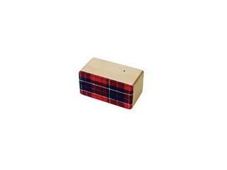 ヨシモク SOUNDFLY(サウンドフライ)Mini(ミニ) Bluetooth 木製ワイヤレススピーカー SF-M BR ブナ×赤チェック 徳島県
