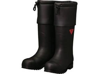 SHIBATA/シバタ工業 防寒安全長靴 セーフティベアー#1001白熊(ブラック) 25.0cm AC111-25.0