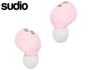 Sudio/スーディオ SD-0029 Pink(パステルピンク) Sudio Niva 完全ワイヤレスイヤフォン