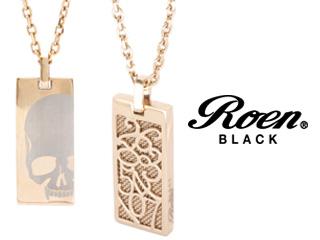 Roen BLACK/ロエンブラック rop-002 RoenBLACK パルファムナンバーネックレス 香水 パルファム ペンダント ネックレス アクセサリー ジュエリー スカル
