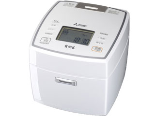 MITSUBISHI/三菱 NJ-VV109-W IH炊飯器 【備長炭 炭炊釜】【5.5合炊き】【ピュアホワイト】
