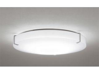 ODELIC/オーデリック SH8288LDR LEDシーリングライト サテンシルバー色飾付【~12畳】リモコン付