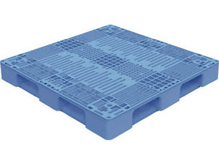 TRUSCO/トラスコ中山 【代引不可】TMSC型樹脂パレット 1100X1100 青 TMSC-P1111-B