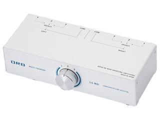 ORB/オーブ LS-R0i RCAケーブル 3chラインセレクター (1入力/3出力)・(3入力/1出力)タイプ