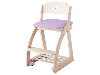 KOIZUMI/コイズミ 【Lovely Chair/木製ラブリーチェア】KDC-033WW PR パープル