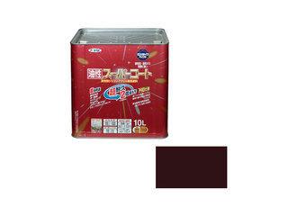 ASAHIPEN/アサヒペン 油性スーパーコート 10L こげ茶