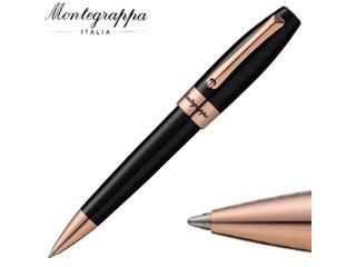 Montegrappa/モンテグラッパ ボールペン ■フォーチュナ【ブラック/ローズゴールドプレート】■(ISFORBRC)